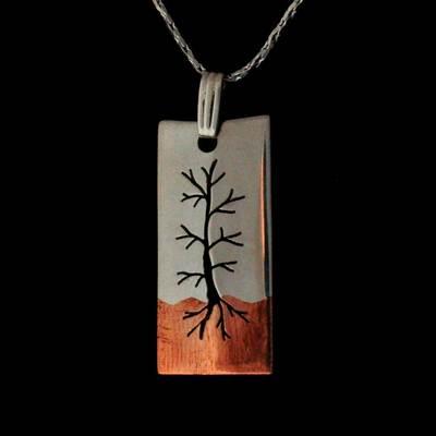 Copper Roots Jackpine Pendant