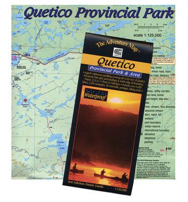 Quetico Provincial Park Map