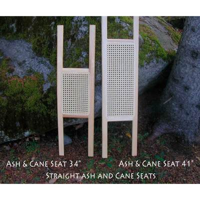 Ash And Cane Seat 34 Inches