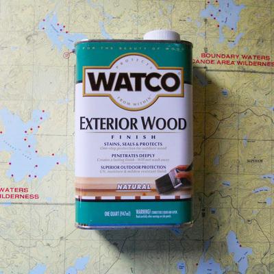 Watco Exterior Finish