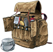 Frost River Camp Cook's Kitchen Pack