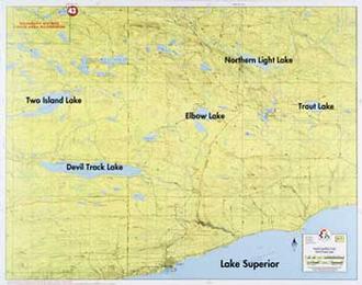 Fisher Maps F07 Sgunflint