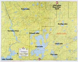 Fisher Maps F08 Vermilion