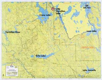 Fisher Maps F15 Crane Lk