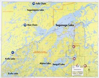Fisher Maps F19 Saganaga