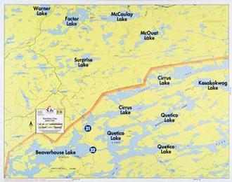 Fisher Maps F28 Beaverhouse
