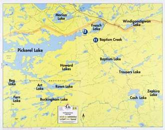Fisher Maps F30 Pickerel