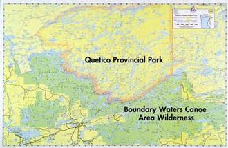 E15 Bwca & Quetico Overview Map