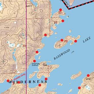 Mckenzie Maps M10 Bass