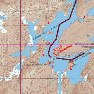 Mckenzie Maps M11 Jackfish