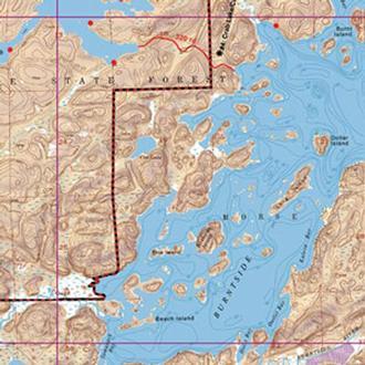 Mckenzie Maps M16