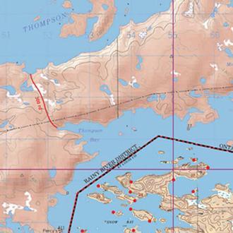 Mckenzie Maps M31 Lac La
