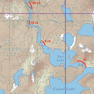 Mckenzie Maps M36 Keefer