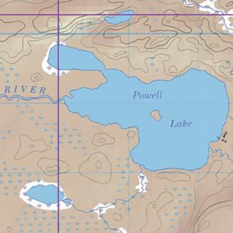 Mckenzie Maps M38 Powell