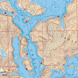 Mckenzie Maps M113