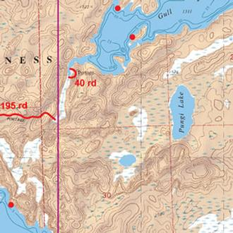 Mckenzie Maps M304