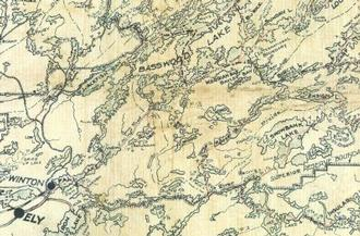 North Bay Trading Maps A1 Antique