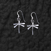 Sculpted Dragonfly Earrings