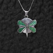 Dragonfly with Opal Pendant