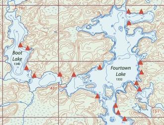 Voyageur Map Bundle Of 10