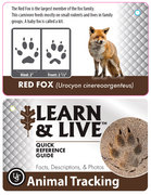 Learn & Live Animal Tracking Cards