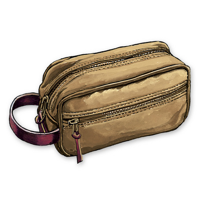 Frost River Travel Kit Standard Double Canvas Bottom