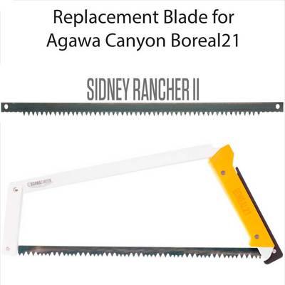 Agawa Canyon Sidney Rancher Saw Blade 21in