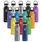 Standard Mouth Insulated Water Bottle 21 oz with Flex Cap