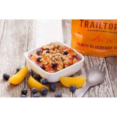 Trailtopia Peach Blueberry Crisp