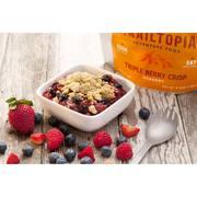 Trailtopia Triple Berry Crisp
