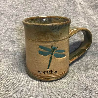 Dragonfly Mug With Breathe