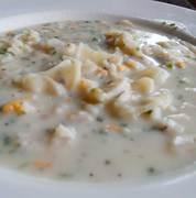 Camp Chow Cheddar Smoke Potato Soup serves 2