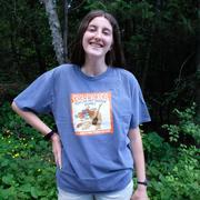 Howling Hot Scotch Bonnet Wolf Hot Sauce Tee