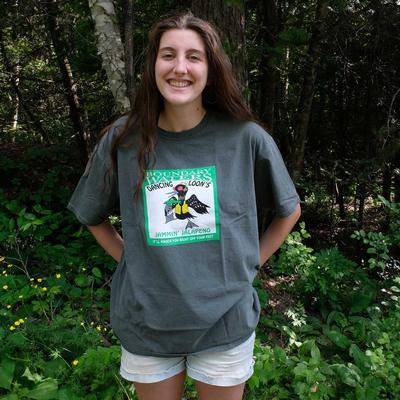 Dancing Loon's Jammin ' Jalapeno Hot Sauce Tee Shirt