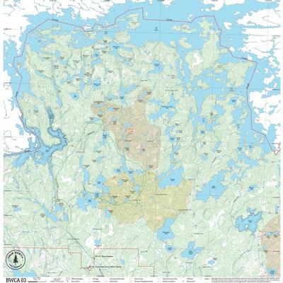 True North Maps Cloth Map 03