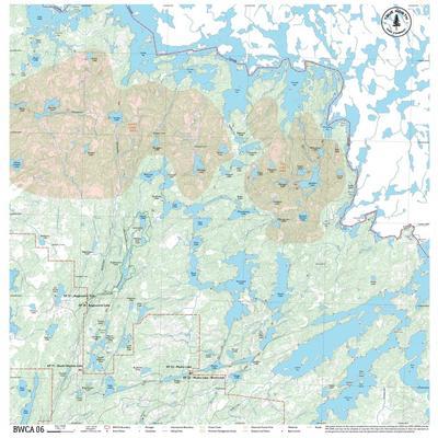 True North Maps Cloth Map 06