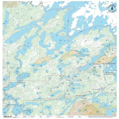 True North Maps Cloth Map 07