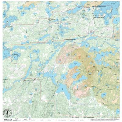 True North Maps Cloth Map 08