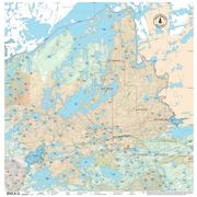 True North Maps Cloth Map 13