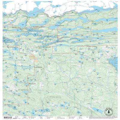 True North Maps Cloth Map 16