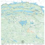 True North Maps Cloth Map 17