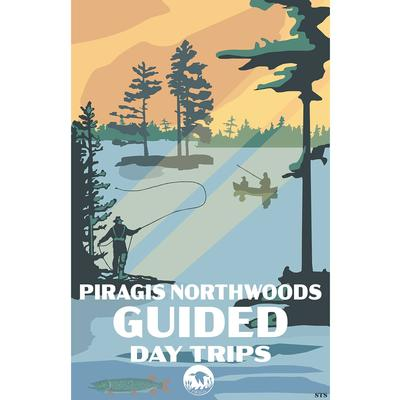 Guided Day Trips Piragis Canoe Trips Poster 11x17