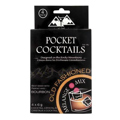 Barcountry Cherry Infused Old Fashioned Pocket Cocktail Mix 4 Pack