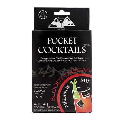 Barcountry Bloody Mary Pocket Cocktail Mix 4 Pack