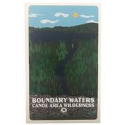 Bwcaw Boundary Waters Sticker 3x5