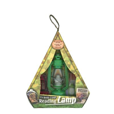 Green Base Camp Reading Lamp
