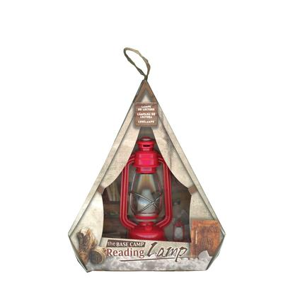 Red Base Camp Reading Lamp