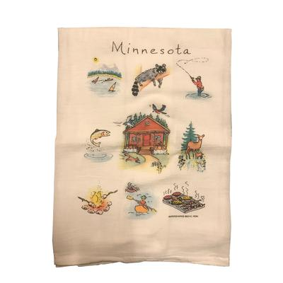 Minnesota Flour Sack Dishtowel