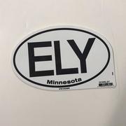Ely Oval Sticker