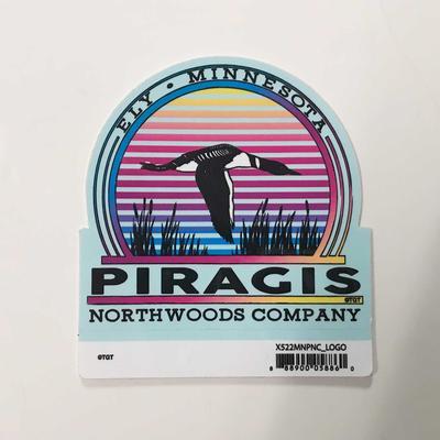 Piragis Loon Logo Sticker